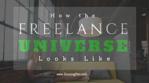 [INFOGRAPHIC] How the Freelance Universe Looks Like and How to Work Your Way Through It
